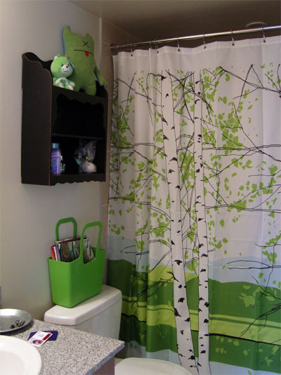 Green Tip of the Day. Upgrade your shower curtain ...
